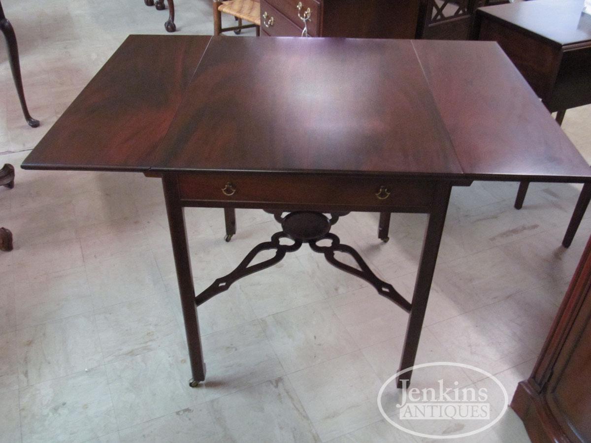 Saybolt Cleland Philadelphia Table With Stretcher Base