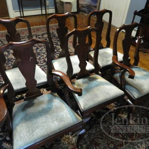 HH Queen Anne Chairs available at Jenkins Antiques