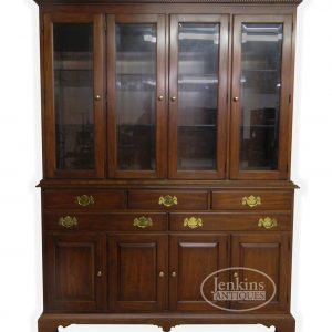 Henkel Harris Breakfront China Cabinet offered by Jenkins Antiques