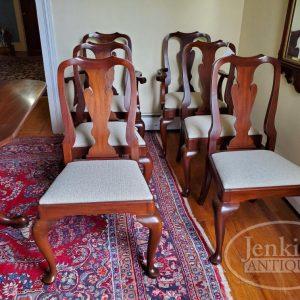 Henkel Harris Queen Anne Chairs