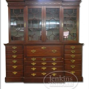 Henkel Harris Warner Library Mahogany Bookcase offered by Jenkins Antiques