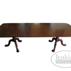 HH Solid Mahogany Dining Table offered by Jenkins Antiques