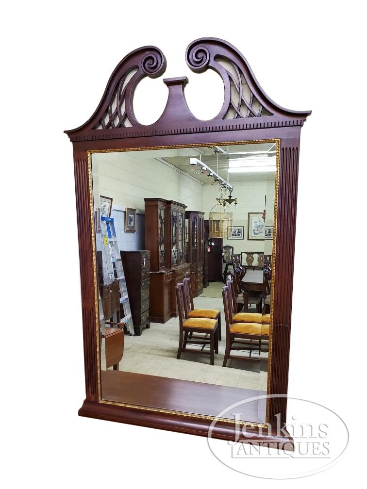 Henkel Harris Mahogany Mirror