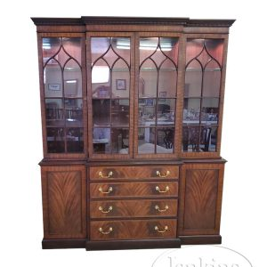Henkel-Harris Breakfront China Cabinet