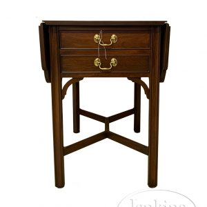Henkel-Harris Drop-Leaf End Table